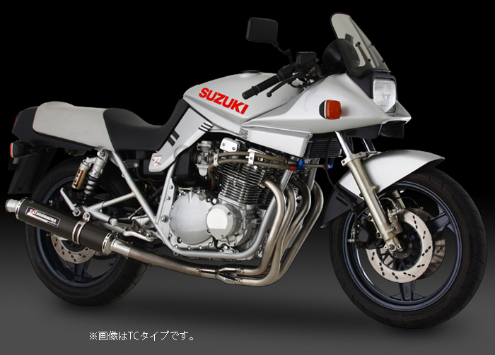 YOSHIMURA JAPAN 【お取り寄せ】機械曲げチタンサイクロン チタン/チタン GSX1100S GS110X〔決済区分:代引き不可〕