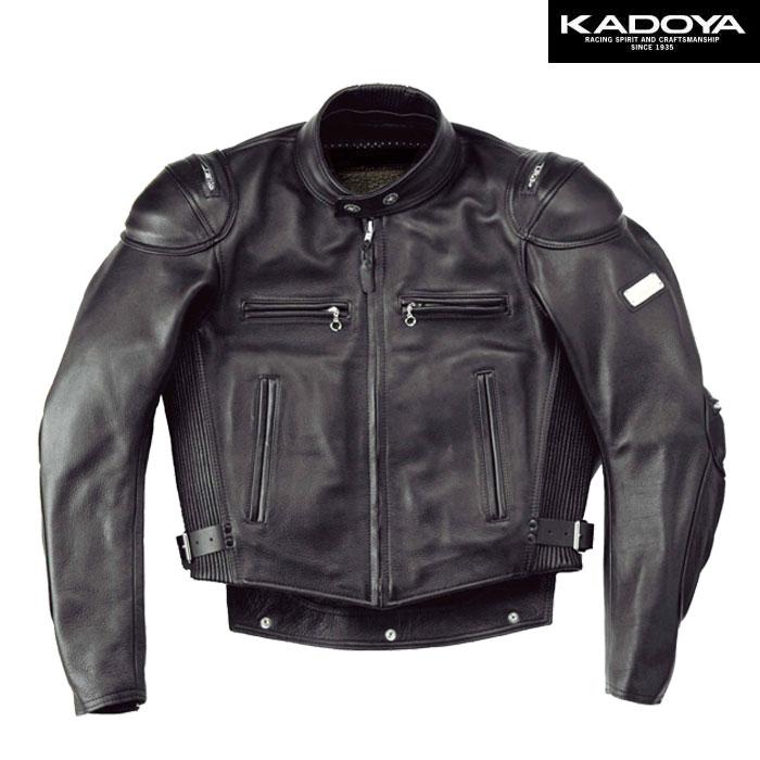 KADOYA 〔WEB価格〕【受注生産】 【大きいサイズ】 BLACK STAR(B) シングルレザージャケット