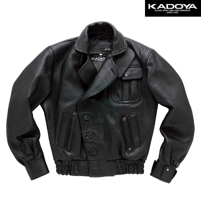 KADOYA 【受注生産】GOD SPEED 1 ダブルレザージャケット