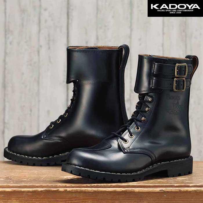 KADOYA KA-VOGEL ライディングブーツ -ブラック-