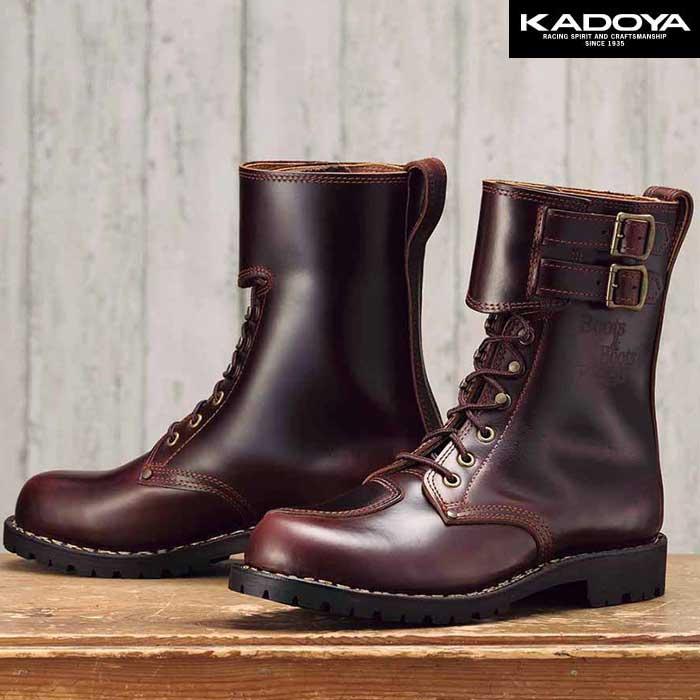 KADOYA KA-VOGEL ライディングブーツ -ブラウン-