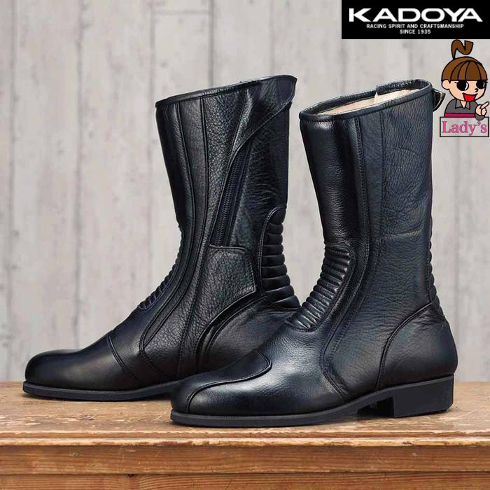 KADOYA 〔WEB価格〕【レディース】4012 レディース G2-RD BOOTS サイドファスナーブーツ