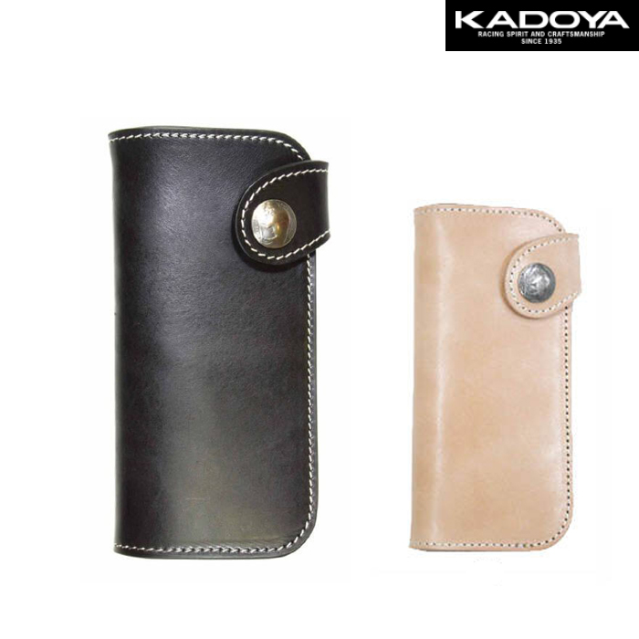 KADOYA 〔WEB価格〕SADDLE WALLET(L)