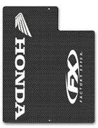 FACTORY EFFEX カーボンフォークガードデカール HONDA
