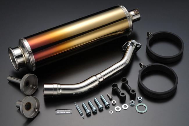 BEAMS SS400チタンII マフラー フォーサイトSE/EX