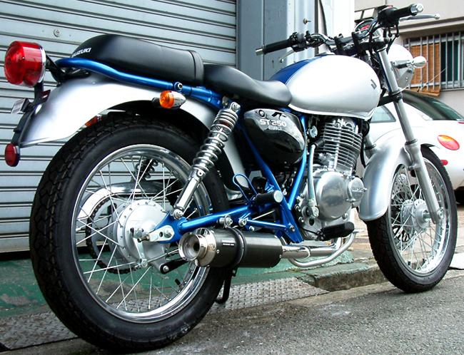 BEAMS SS300カーボン マフラー ST250