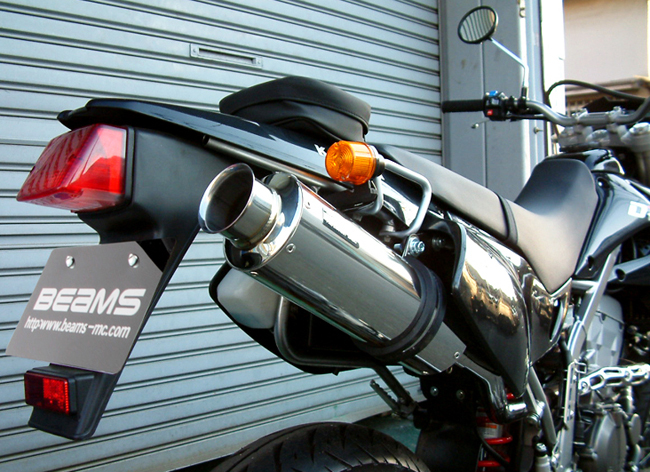 BEAMS 【お取り寄せ】SS300ソニック アップタイプS/O マフラー D-TRACKER/KLX250〔決済区分:代引き不可〕
