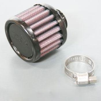 DNA クランクケースベントフィルター ラウンドストレート(ラバートップ/ラバーベース)