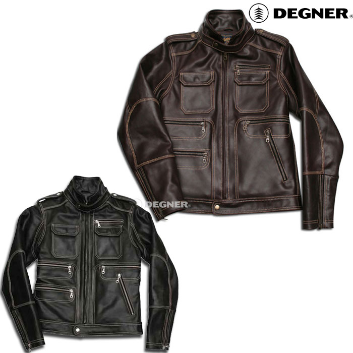 DEGNER 【WEB限定】Leather Jacket