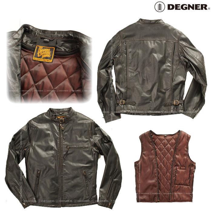 DEGNER 〔WEB価格〕7WJ-12A レザージャケット