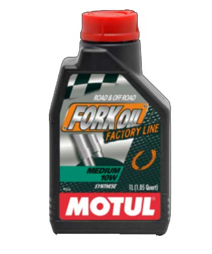 MOTUL FORK OIL FACTORY LINE MEDIUM 10W  1L