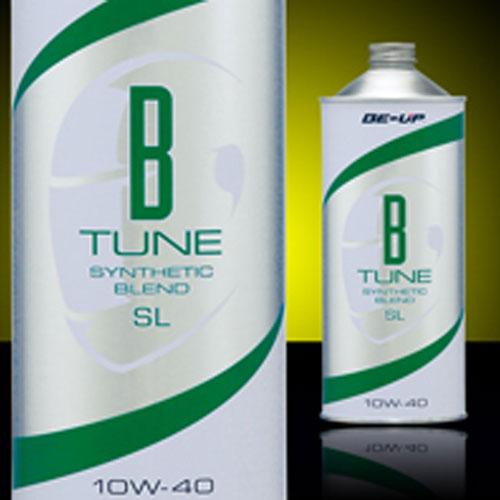 BE-UP B-TUNE BT1040 シンセティックブレンドモーターサイクルエンジンオイル 10W-40 1L 4995187330100