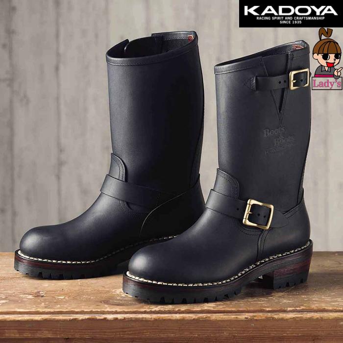 KADOYA 〔WEB価格〕【レディース】4007 KA-G.I.J  エンジニアブーツ シューズ