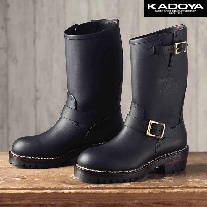 KADOYA 〔WEB価格〕4007 KA-G.I.J  エンジニアブーツ シューズ