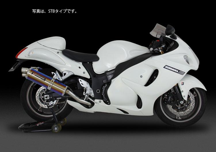 YOSHIMURA JAPAN Slip-On Tri-Ovalサイクロン 2END EXPORT SPEC GSX1300R 2014年他