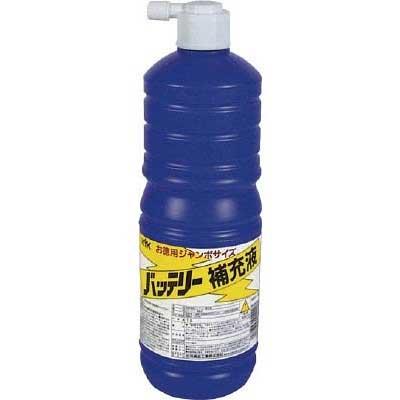 古河薬品工業 〔WEB価格〕バッテリー補充液 お徳用ジャンボサイズ 1L