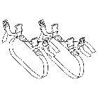 TANAX 〔WEB価格〕シート固定ベルト MFK-133/MFK-134/MFK-135/MFK-142用