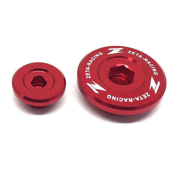 DIRTFREAK 【WEB価格】ZE89-1420 ZETA エンジンプラグ RED YZ450F'06-09,WRF'03-