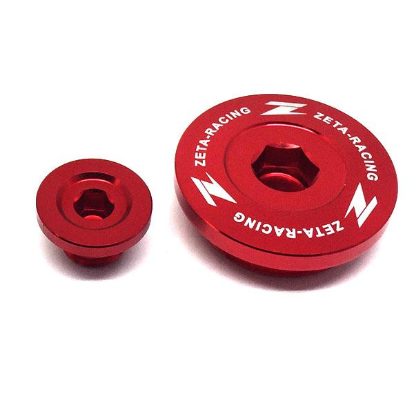DIRTFREAK ZE89-1230 ZETA エンジンプラグ RED KX450F'09-18