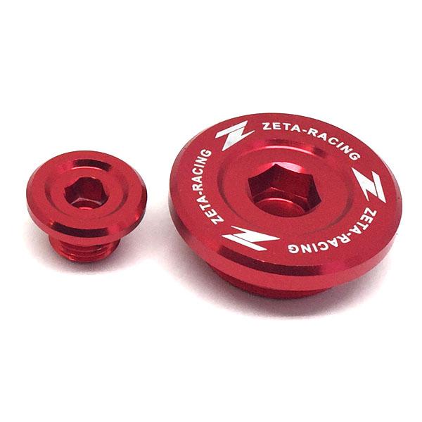 DIRTFREAK ZE89-1310 ZETA エンジンプラグ RED RMZ250'07-/RMZ450