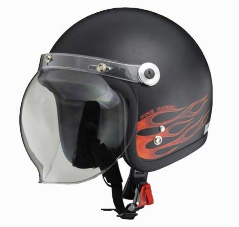リード工業 〔WEB価格〕ジェットヘルメット ファイアエンジェル BC-10 4952652008247