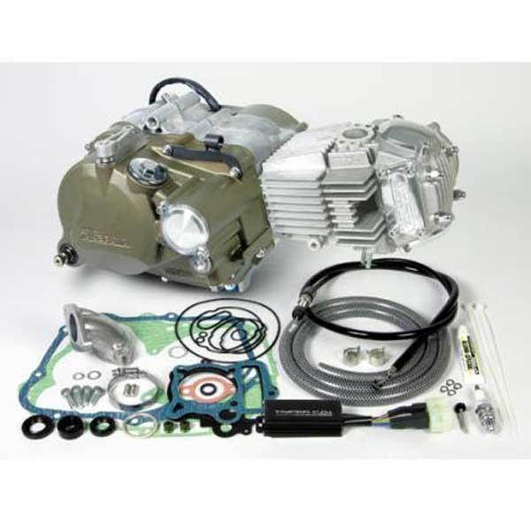 スペシャルパーツ武川 スーパーヘッド+R コンプリートエンジン 148cc