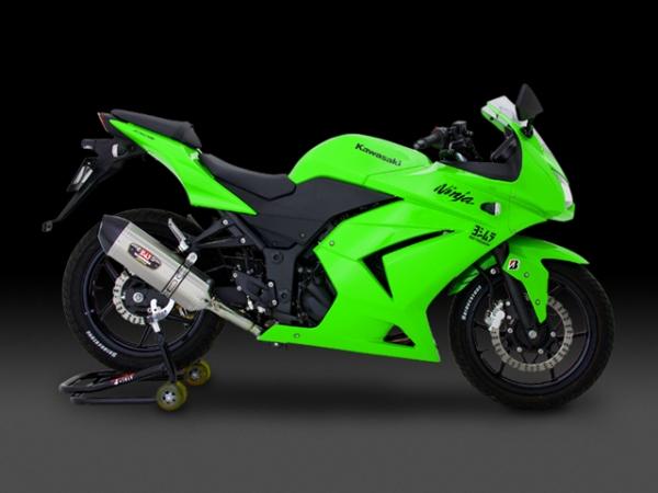 YOSHIMURA JAPAN 【WEB限定】Ninja250R 機械曲げ R-77J サイクロン EXPORT SPEC 110-225-5080B