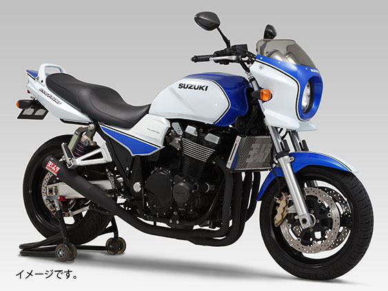 YOSHIMURA JAPAN 【お取り寄せ】機械曲げストレートサイクロン SB GSX1400 ~2005年〔決済区分:代引き不可〕