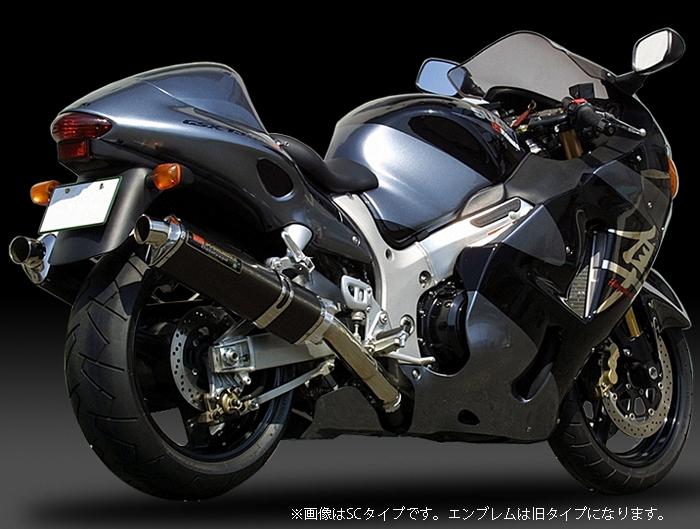 YOSHIMURA JAPAN 【お取り寄せ】Slip-On Tri-Oval サイクロン (1エンド) STB GSX1300R -'06 北米仕様/-'03 欧州仕様〔決済区分:代引き不可〕