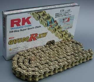 RK JAPAN GV530R-XW XWリングチェーン