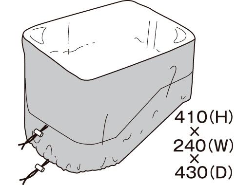 TANAX 〔WEB価格〕レインカバー MFK-180用