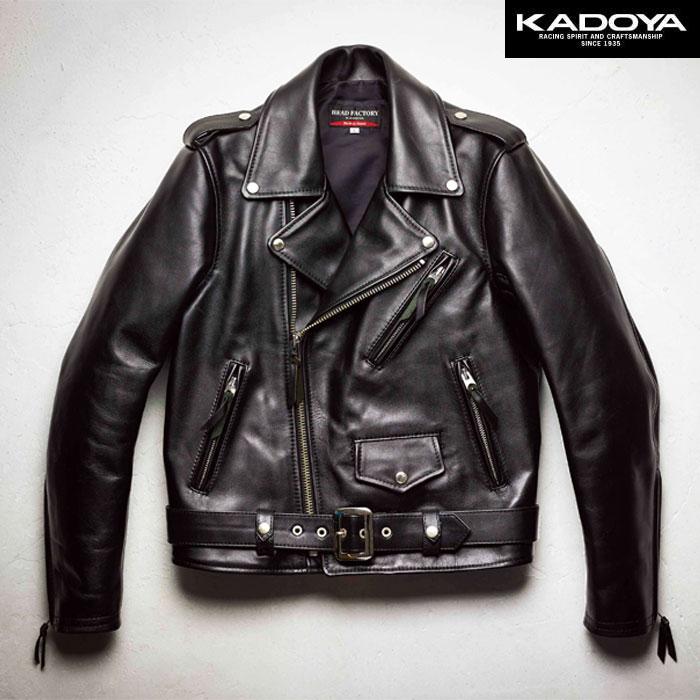 KADOYA 〔WEB価格〕【受注生産】 【大きいサイズ】 HF/AW-1VS レザージャケット