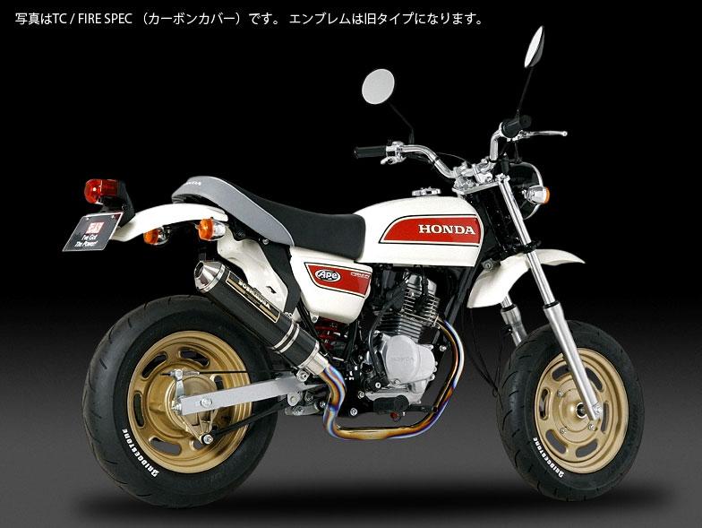 YOSHIMURA JAPAN 機械曲げチタンサイクロン チタン/カーボン Ape50 2008年