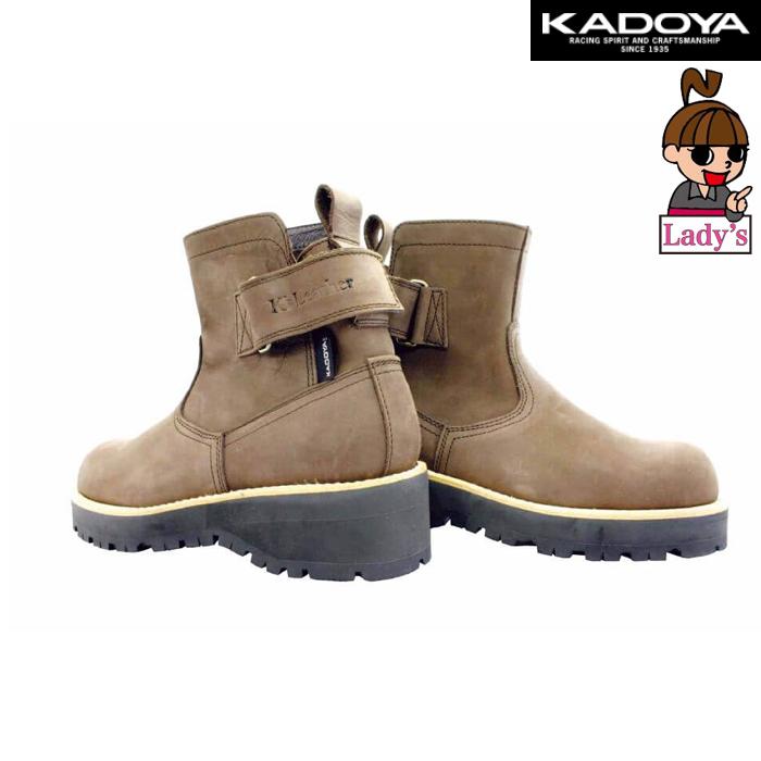KADOYA 〔WEB価格〕【レディース】4317  EG BROWN-A ショートブーツ