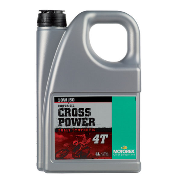 MOTOREX 〔WEB価格〕97792  CROSS POWER 4T 15W50 4L オイル