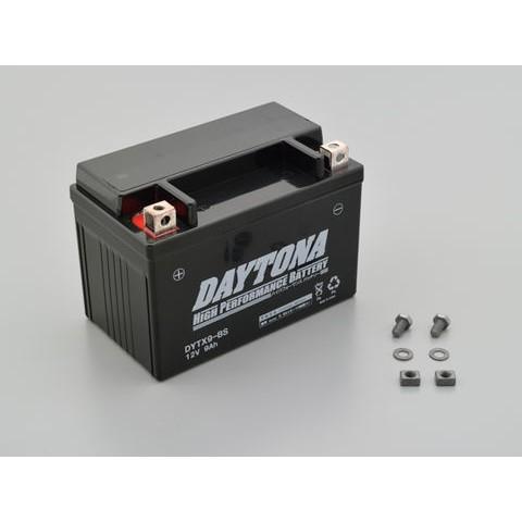DAYTONA 92882 ハイパフォーマンスバッテリー【DYTX9-BS】MFタイプ