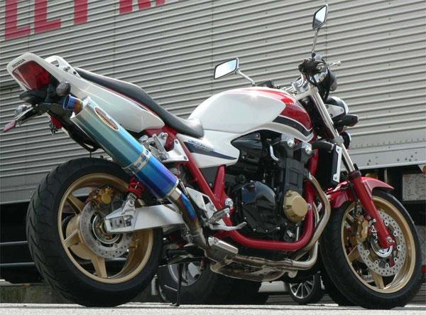 BEET JAPAN New NASSERT-R スリップオンマフラー CB1300SB 2008~13年他