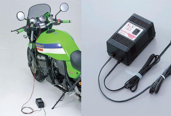 充電 バイク バッテリー