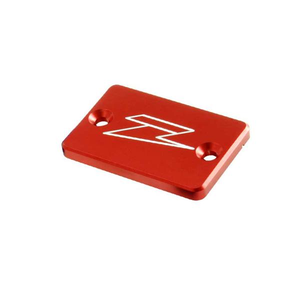 DIRTFREAK ZE86-1503 ZETA リザーバカバー RED XR/DRZ/KLX etcフロントB