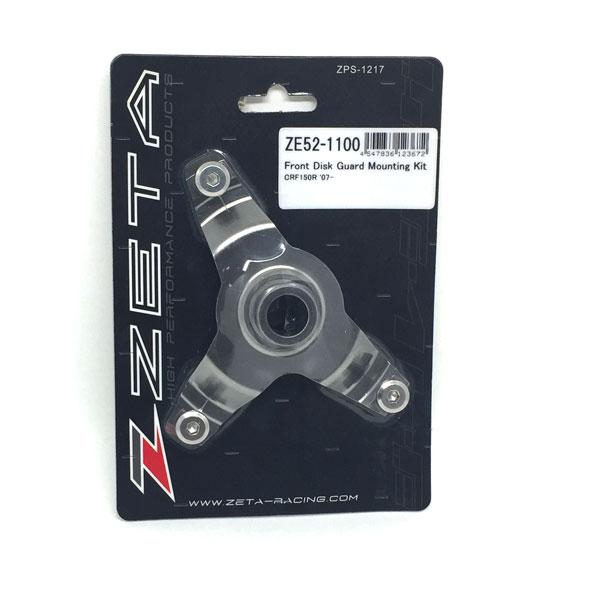 DIRTFREAK ZE52-1100 ZETA Fディスクガード マウントキット TI CRF150R