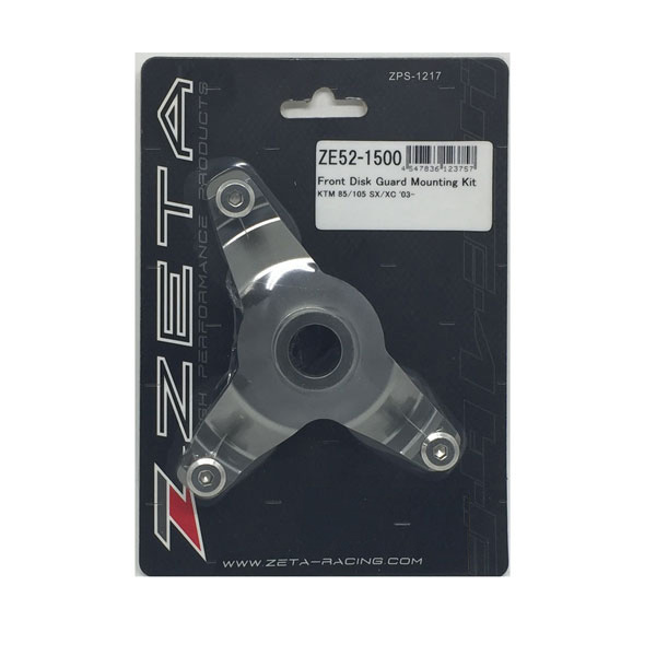 DIRTFREAK 【WEB価格】ZE52-1500 ZETA Fディスクガード マウントキット TI KTM85SX
