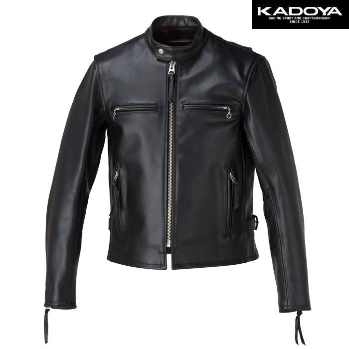 KADOYA 【大きいサイズ】 FPS-1 レザージャケット(ハード) 防寒 防風