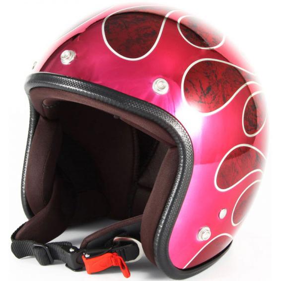 ジャムテックジャパン CUSTOM JAM ジェットヘルメット FLAMES