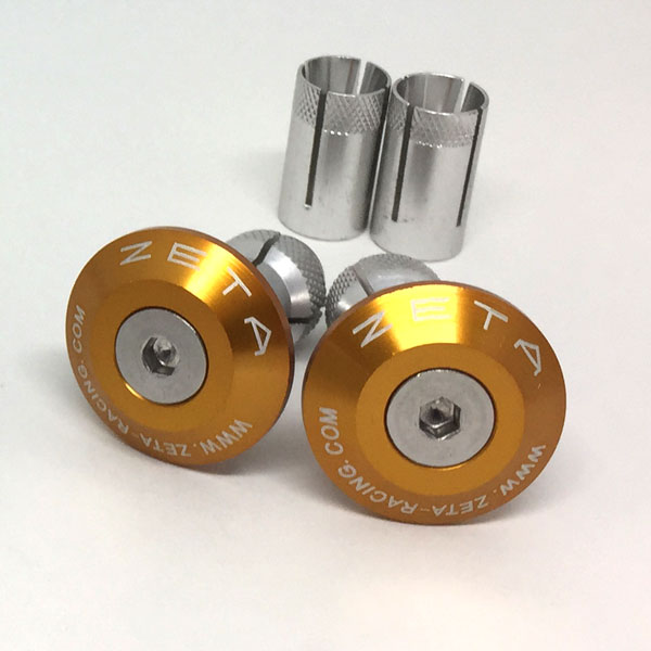 DIRTFREAK ZE48-7004 ZETA バーエンドプラグ 29mm GOLD