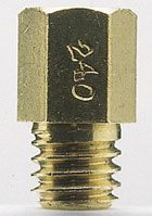 POSH スーパー6オーバーサイズメインジェットCセット(ミクニ六角大、直径6mm×全長11.5mm)