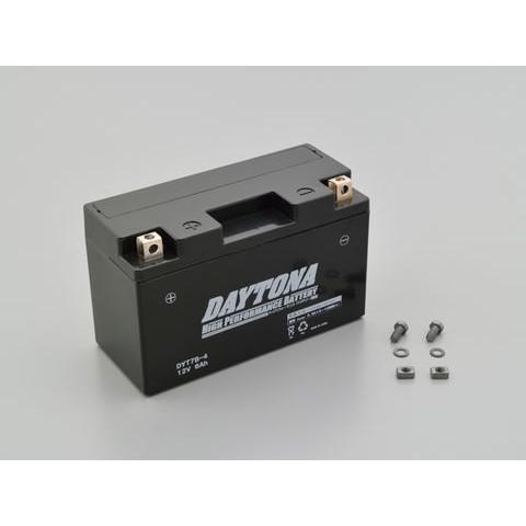 DAYTONA 92880 ハイパフォーマンスバッテリー【DYT7B-4】MFタイプ