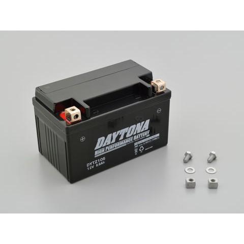 DAYTONA 92884 ハイパフォーマンスバッテリー【DYTZ10S】MFタイプ