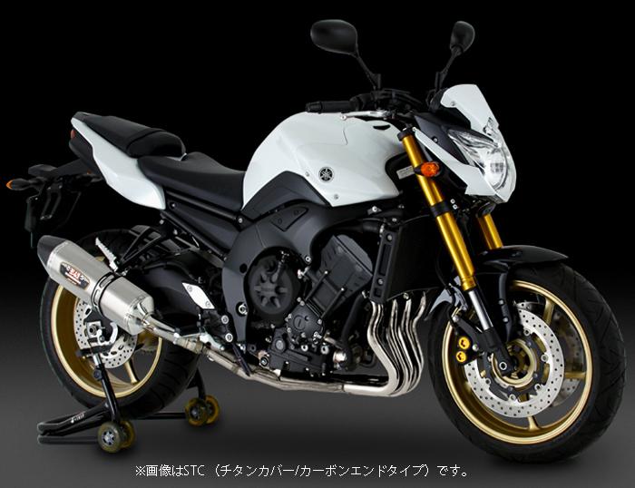 YOSHIMURA JAPAN 【お取り寄せ】Slip-On R-77Jサイクロン EXPORT SPEC SMC FAZER8/FZ8 南アフリカ仕様〔決済区分:代引き不可〕