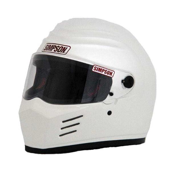 SIMPSON 【お取り寄せ】 OUTLAW フルフェイスヘルメット ホワイト