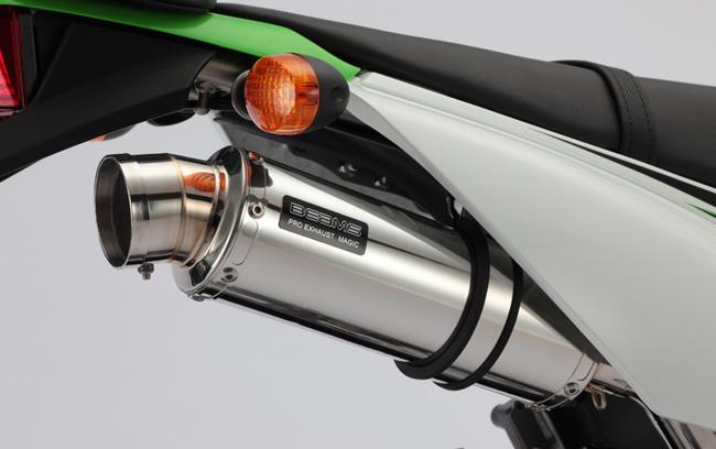 BEAMS R-EVO ステンレス マフラー KLX125